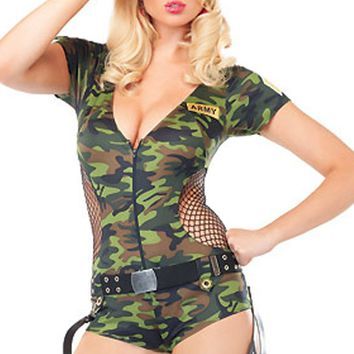 Atomic Boot Camp Babe Costume