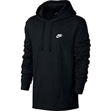 Mens Sportswear Pull Over Club Hooded Sweatshirt