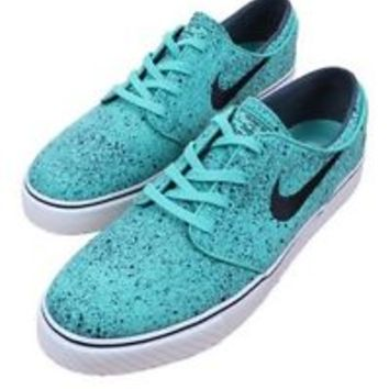 ZOOM STEFAN JANOSKI PREM CRYSTAL MINT/GUM LIGHT BROWN 375361-302 MEN NIKE SZ 10