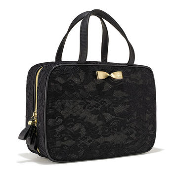 Black Lace Travel Case - Victoria's Secret - Victoria's Secret