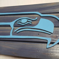 THROWBACK Seahawks Wall Sign!!