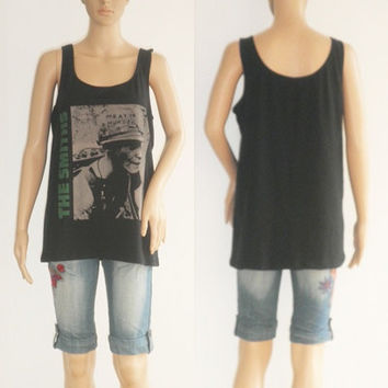 The smiths Meat is Murder  shirt  tank top  shirt  womens Size Medium to Large  U.S Size 12  Free Shipping
