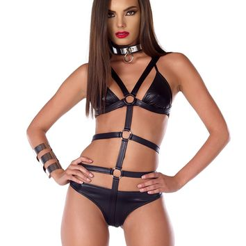 Aggression Bra And Panty Set
