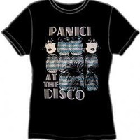 ROCKWORLDEAST - Panic At The Disco, Girls T-Shirt, Two Girls