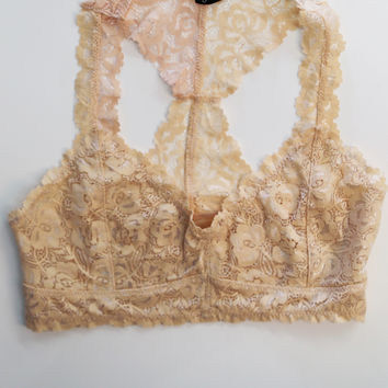 Ruffle Racerback Bralette {Multiple Colors Available}