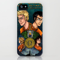 Percy Jackson and the Olympians, The Last Olympian iPhone & iPod Case by Yuri Meister