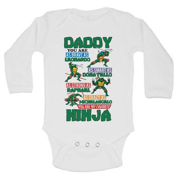 Daddy You Are My Favorite Ninja - Funny Kids Shirts