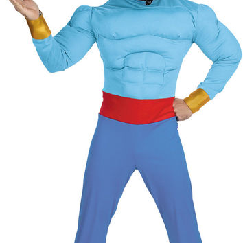 men's costume: genie muscle chest