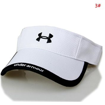 Under Armour New fashion embroidery letter hollow couple cap hat 3#