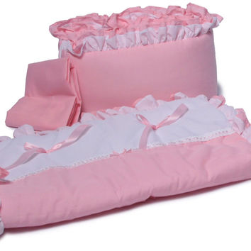 Baby Doll Bedding Regal Cradle Bedding Set Pink BabyDoll Bedding 530cr36