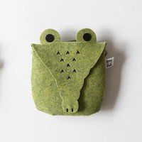 Miniplant Crocodile Bag (Green)