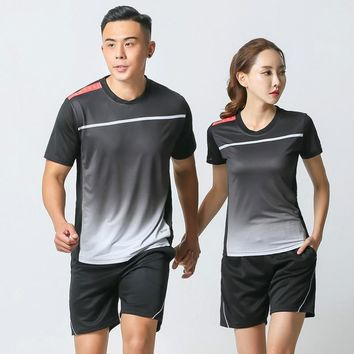 Men and Women Volleyball Badminton Shirt Table Tennis Shirt Team Jersey,Badminton clothes ,tenis de mujer  Mens sports clothing