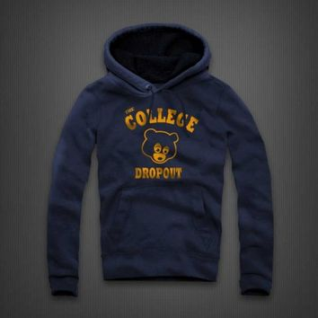 82179b87 The College Dropout Hoodie By Kanye West - WEHUSTLE | MENSWEAR, WOMENSWEAR,  HATS, MIXT