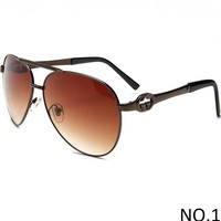 GUCCI 2018 counter models men and women tide brand fashion sunglasses F-ANMYJ-BCYJ NO.1