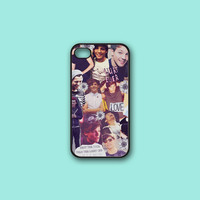 Louis Tomlinson Collage - Print on hard cover for iPhone case and Samsung Galaxy case