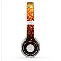 The Faded Gold Glimmer Skin for the Beats by Dre Solo 2 Headphones