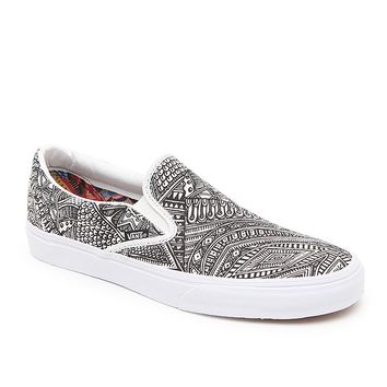 Vans OTW Gallery Classic Slip-On Shoes - Mens Shoes - Multi