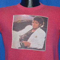 80s Michael Jackson Thriller Iron On t-shirt Medium