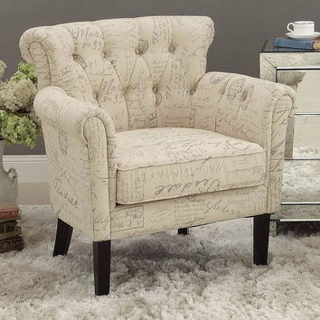 Accent Chair Barlowe Collection 1193F2S
