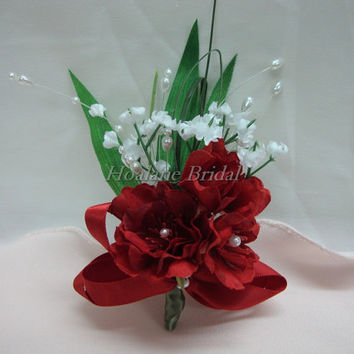Shop boutonniere silk flowers on wanelo boutonnieres red silk flower boutonnieres special occasion boutonnieres mightylinksfo Choice Image