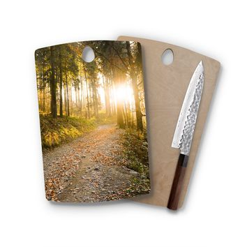 Falling In The Woods Rectangle Cutting Board Trendy Unique Home Decor Cheese Board
