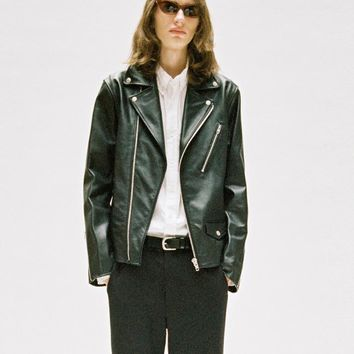 Classic Leather Rider Jacket