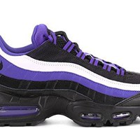 NIKE AIR MAX 95 PRM RUNNING SHOES PERSIAN VIOLET BLACK WHITE 749766 501