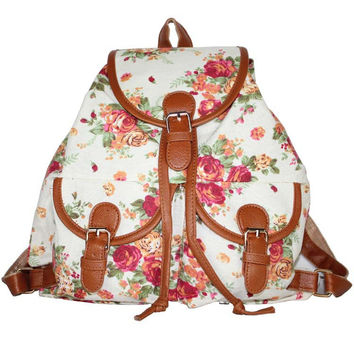 Back To School Comfort Casual Hot Deal College On Sale Vintage Classics Ladies Stylish Backpack [8070740103]