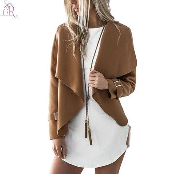 Waterfall Open Front Autumn Jacket
