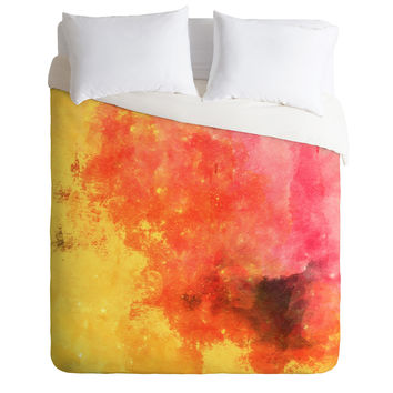 Allyson Johnson Early Sunset Duvet Cover