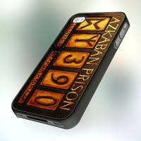 Azkaban Prison Number Harry Potter design for iPhone 4 or 4S Case