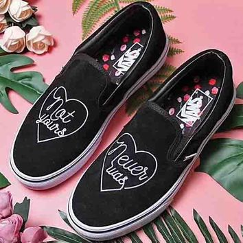 VANS new men and women fashion high quality low top lazy shoes casual skateboard shoes F-CSXY