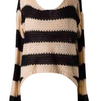 Stripes Knitted Top