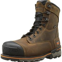 Timberland PRO Men's 8 Inch Boondock Composite-Toe Waterproof Work and Hunt Boot  timberland boots for men