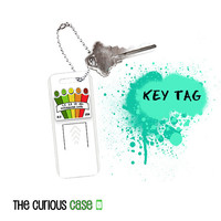 Key Chain Purse Tag  - Metal Hang Tag K2 Ghost Hunter Spirit  Detector Device