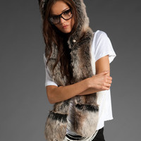 SPIRITHOODS (Product Blue) Wolf Full Hood in Wolf at Revolve Clothing - Free Shipping!