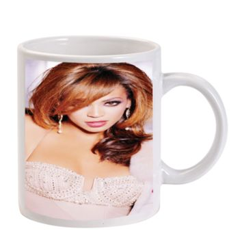 Gift Mugs | Beyonce Knowles Ceramic Coffee Mugs