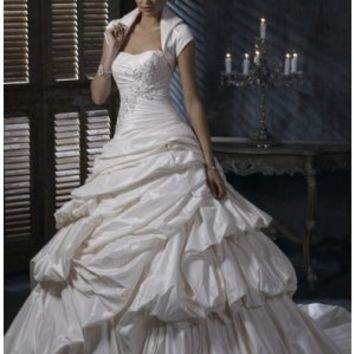 Modest Bolero Jacket Bridal Dress