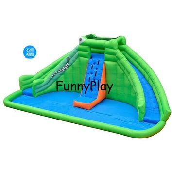 Inflatable Slide Mini Bouncer Inflatable Water Slide with Pool for kids with Free CE blower,children inflatable pool with slide