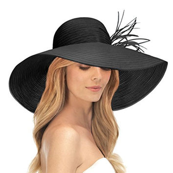 Eric Javits Women's Head-wear Marisa Hat (Black)