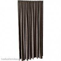 9 ft High Fire Retardant Velvet Curtains