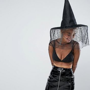 Halloween Witch Hat at asos.com