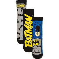 River Island Boys black batman socks 3 pack