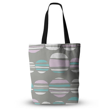 "Emine Ortega ""Retro Circles Pastel"" Everything Tote Bag"