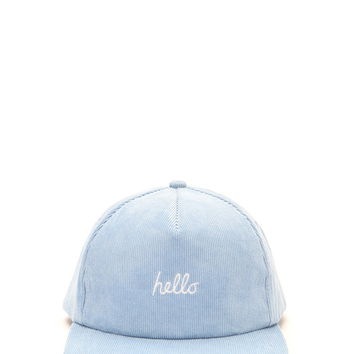 Men Hello Baseball Cap | 21 MEN - 2000168612