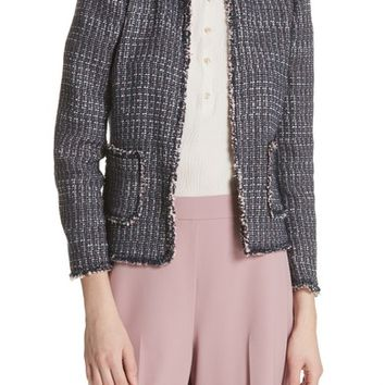 Rebecca Taylor Multi Tweed Jacket | Nordstrom