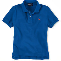Ralph Lauren Childrenswear Boys 8-20 Cotton Polo Shirt
