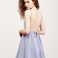 Free People Ridin' Solo Mini Dress