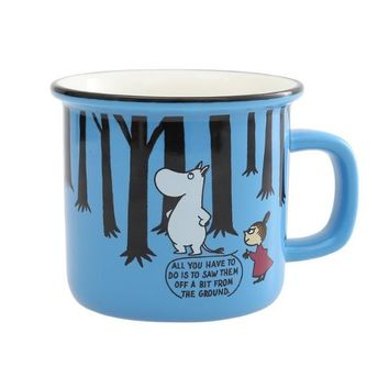 Cartoon Moomin Ceramic Cup Cute Moomin Coffee Mug 250ml Milk Tea Beer Cup Breakfast Mugs With Handgrip Novelty Gifts