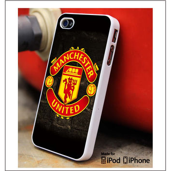 Manchester United Logo iPhone 4s iPhone 5 iPhone 5s iPhone 6 case, Galaxy S3 Galaxy S4 Galaxy S5 Note 3 Note 4 case, iPod 4 5 Case